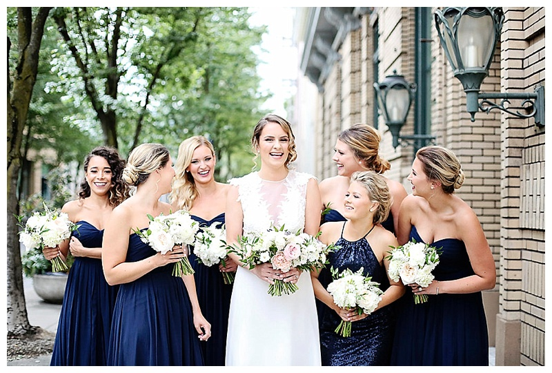 Oregon Wedding Flowers Bridesmaids