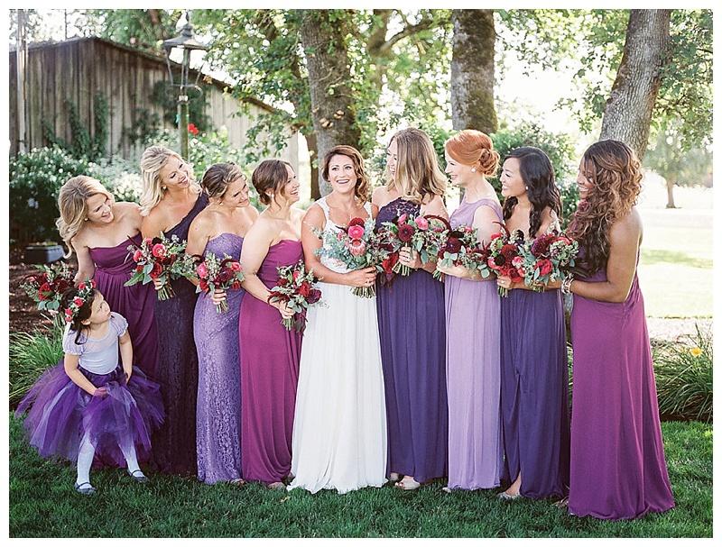 Wilmes Hop Farm Wedding Florist Oregon