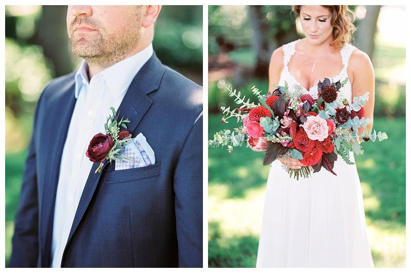 Wedding Flowers Oregon Bride Groom
