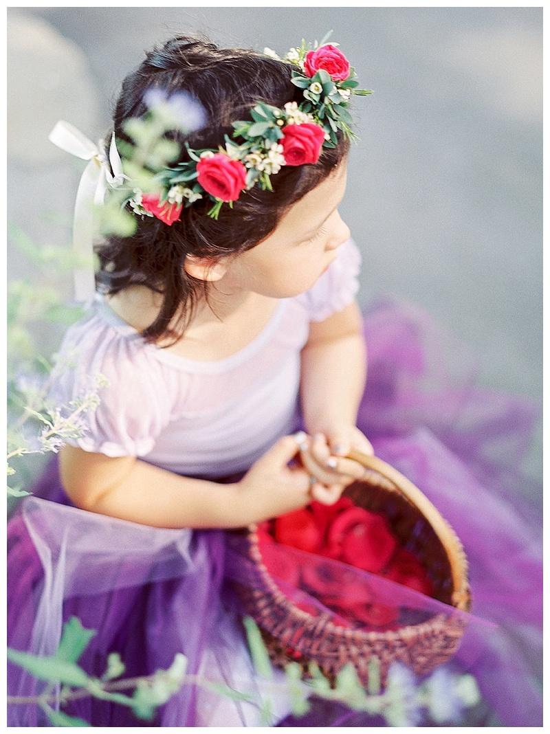 Oregon Wedding Florist Flower girl