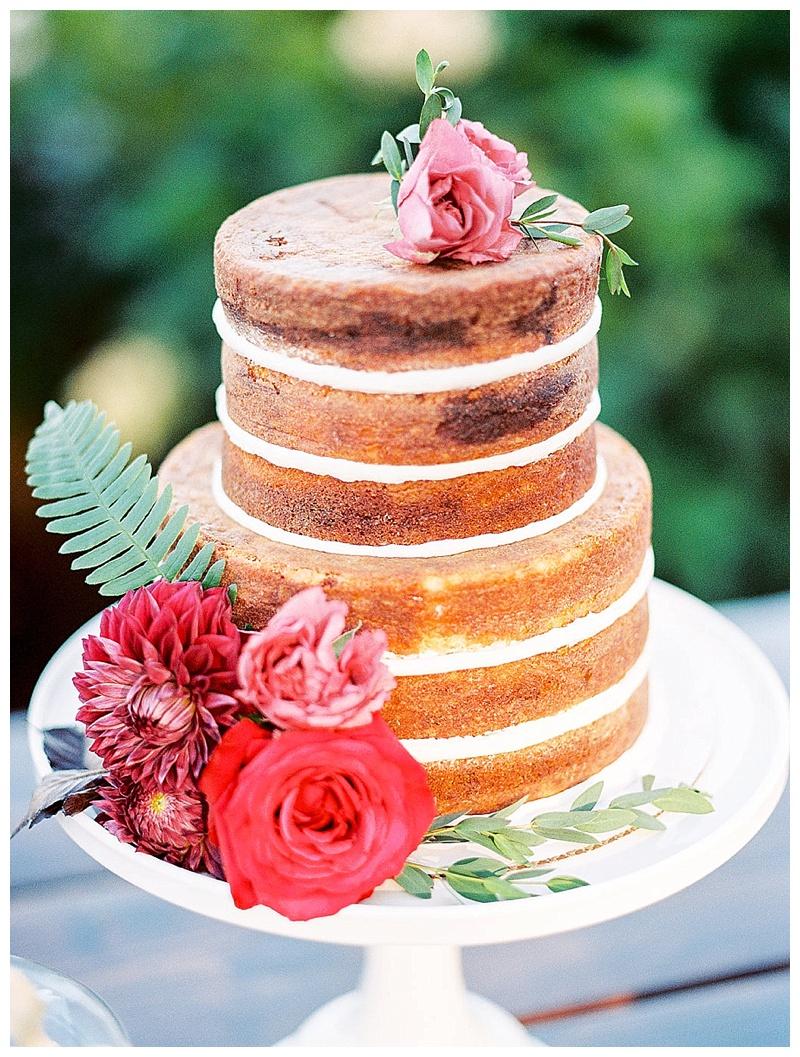 Oregon Wedding Cake Flowers Florist
