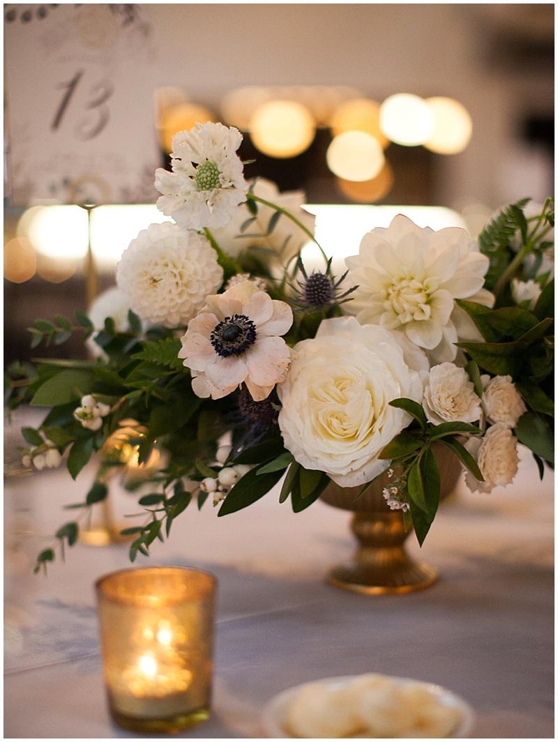 Oregon Wedding Florist reception The Evergreen