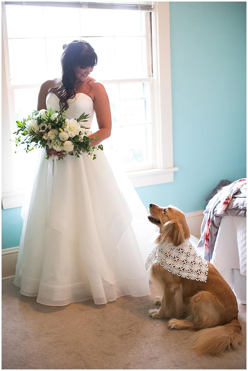 Wedding Florist Portland bride