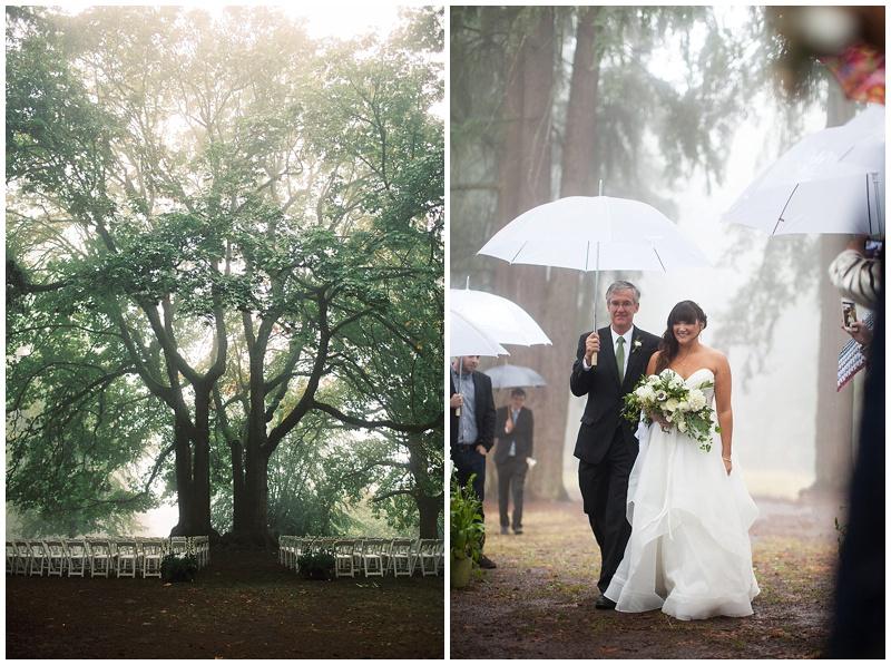 Oregon Wedding Flowers ceremony