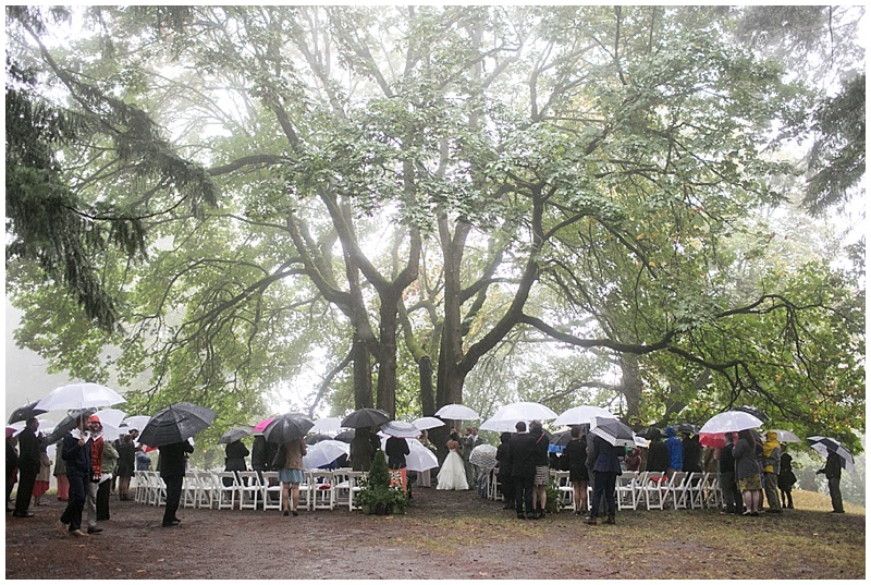 Portland Wedding Florist ceremony