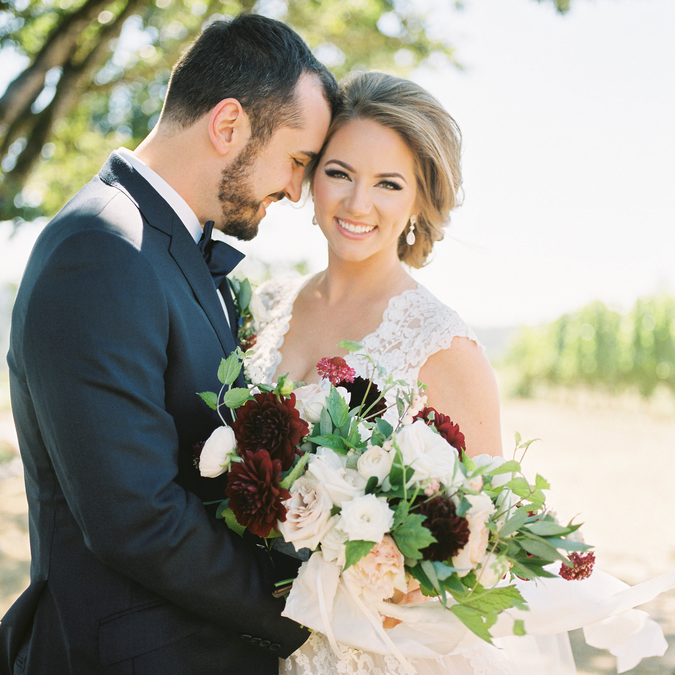 Madison + Stephen | Zenith Vineyard