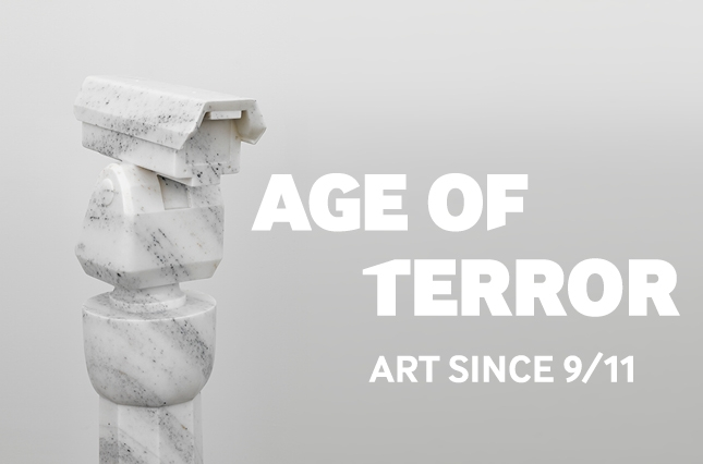 See the UK's first major exhibition of artists' responses to war and conflict since the terrorist attacks on 11 September 2001.  Age of Terror: Art since 9/11  features more than 40 British and international artists, including Ai Weiwei, Grayson Perry, Gerhard Richter, Jenny Holzer, Mona Hatoum, Alfredo Jaar, Coco Fusco and Jake & Dinos Chapman.  The complex issues surrounding the global response to 9/11, the nature of modern warfare and the continuing state of emergency in which we find ourselves have become compelling subject matter for contemporary artists.  Artists' unique ways of communicating through their art provide different levels of understanding. The stories they tell, whether first or second-hand, come from alternative viewpoints not always reflected in the mainstream media, often challenge our perceptions.   Through 50 works of art including film, sculpture, painting, installations, photography and prints, many of which are exhibited publicly in the UK for the first time, this exhibition highlights the crucial role of artists in representing contemporary conflict.
