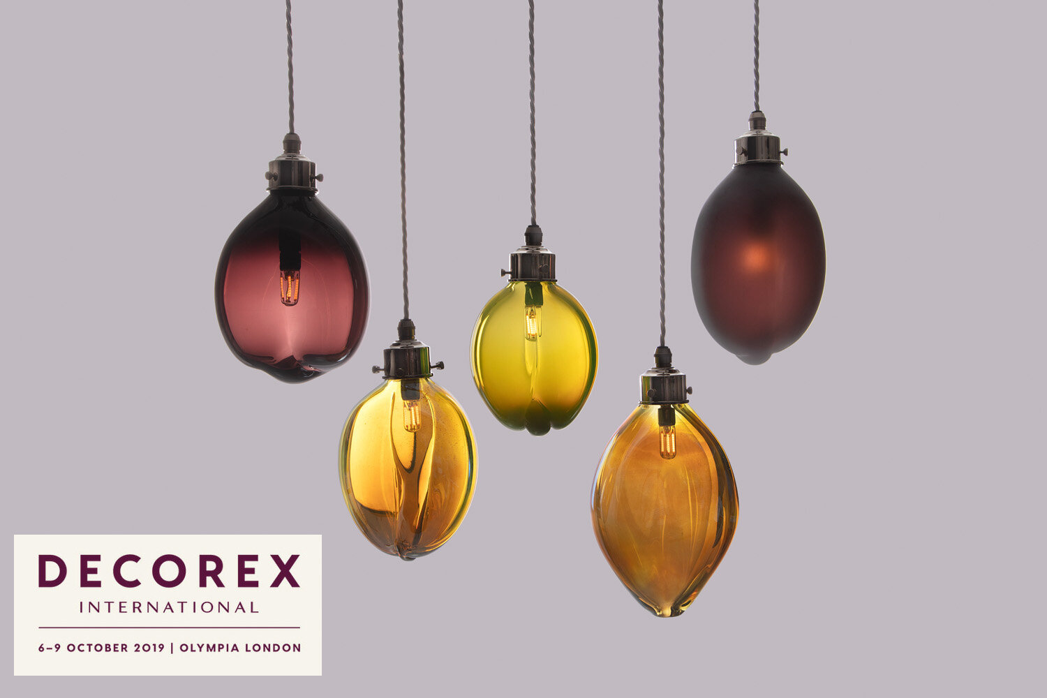 New lighting collection being launched at Decorex upstairs on stand J27.