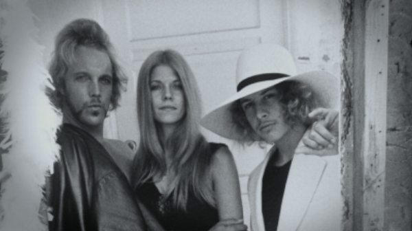 The Mod Squad, circa 1970s:        Bunker and Tony Alva         flanking 70s angel Ellie.