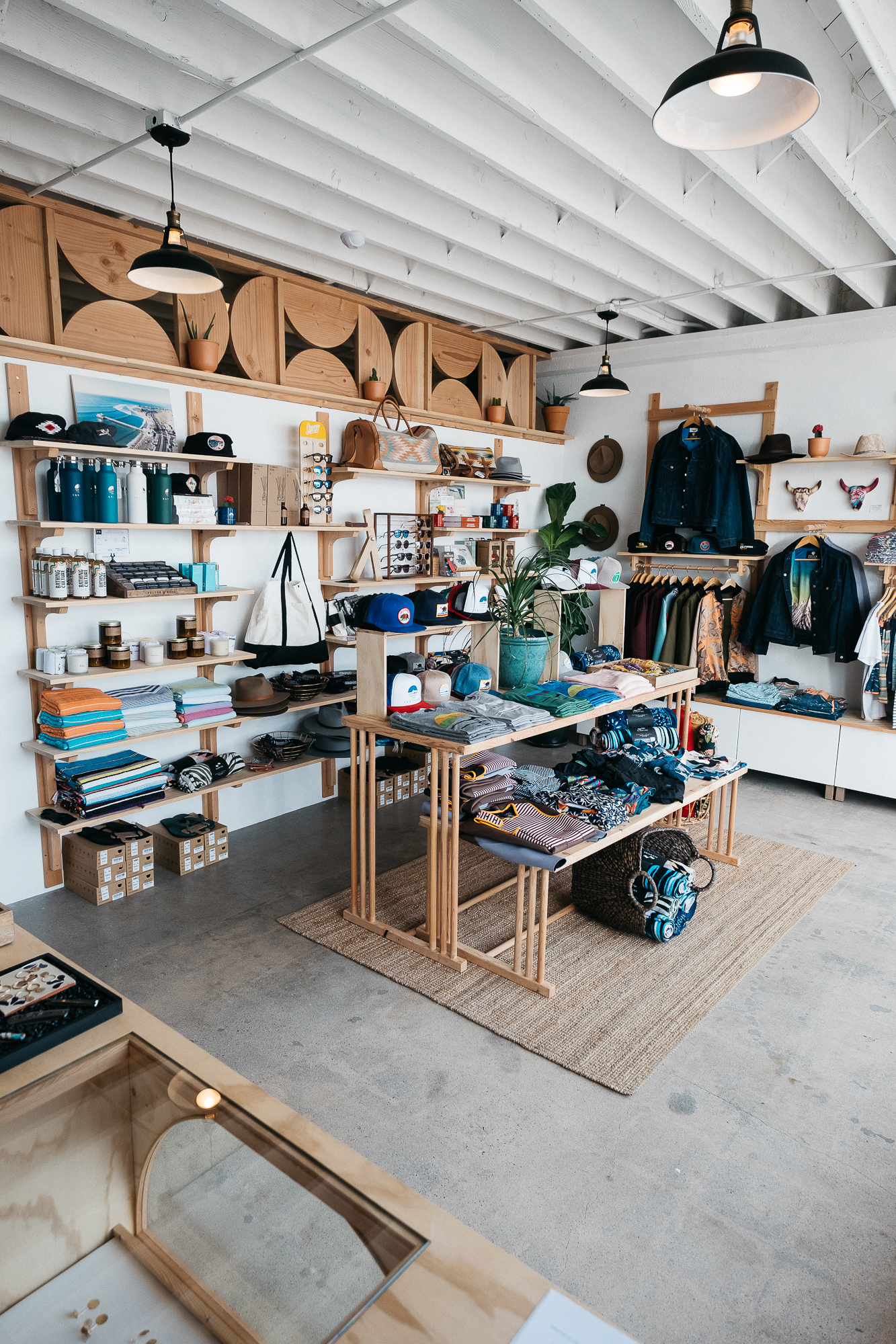 A lit, artisanaly curated space for extra woke surf people. All you need. Photo: Ian Zamora.
