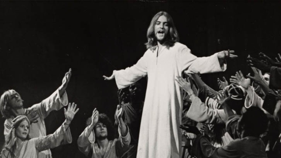 The central figure in  Jesus Christ Superstar . Dion has a similar effect on his fellow Citizens in  Deus ex Machina .
