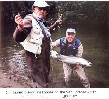 A couple of local rascals with a healthy San Lorenzo steelhead. Photo: Thomas Hogye.
