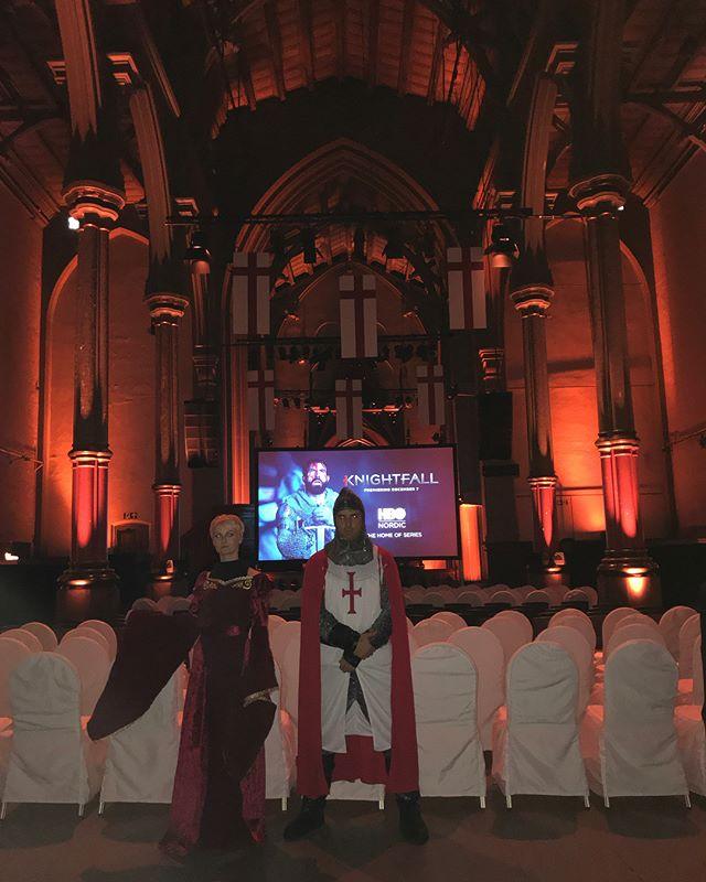 Dagens event #HBOnordic #Knightfall #Førpremiere