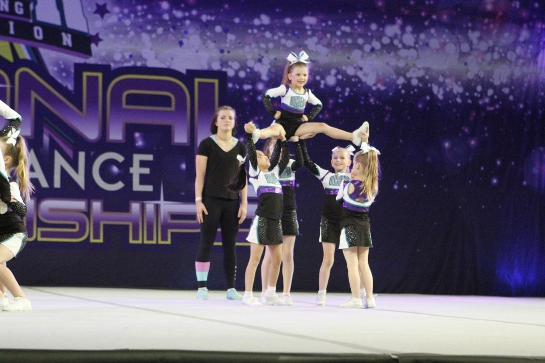 Cheerleading for kids Melbourne Bullets Allstars