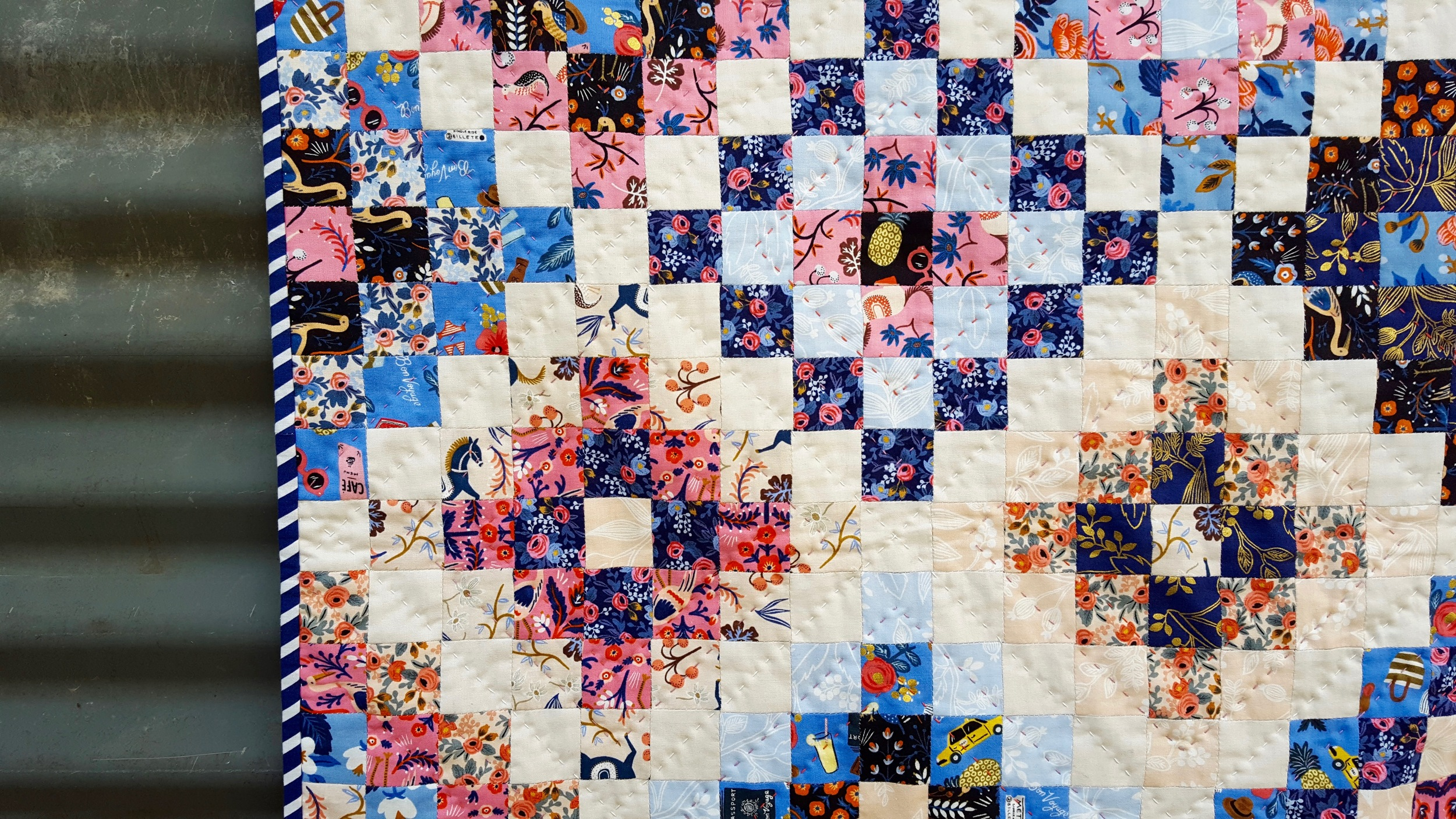 English Paper Pieced Squares