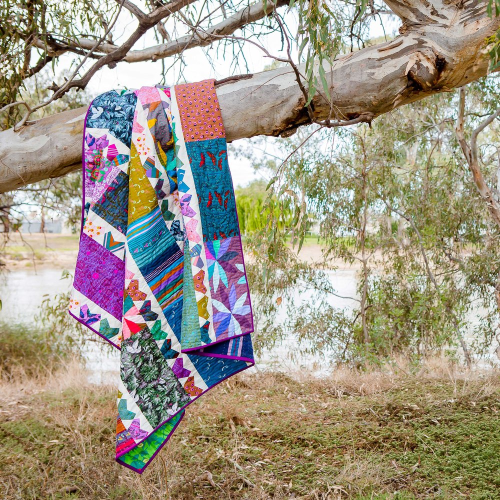 {The Seedling Quilts} - Caraway Quilt -