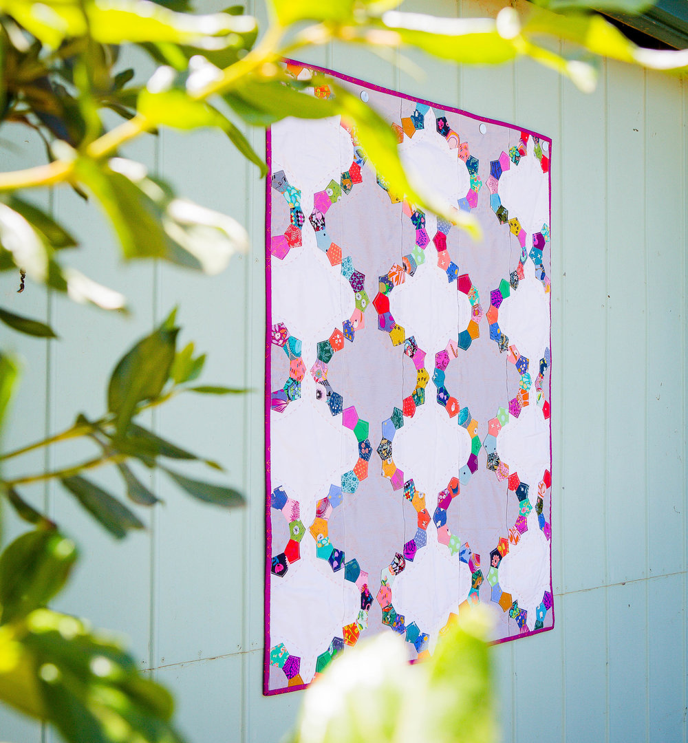 {The Seedling Quilts} - Elderberry Quilt -