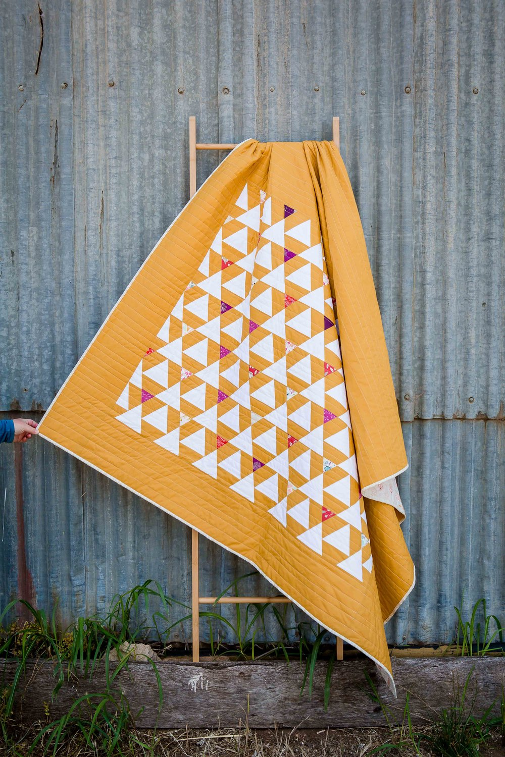 {The Seedling Quilts} - Lavender Quilt -