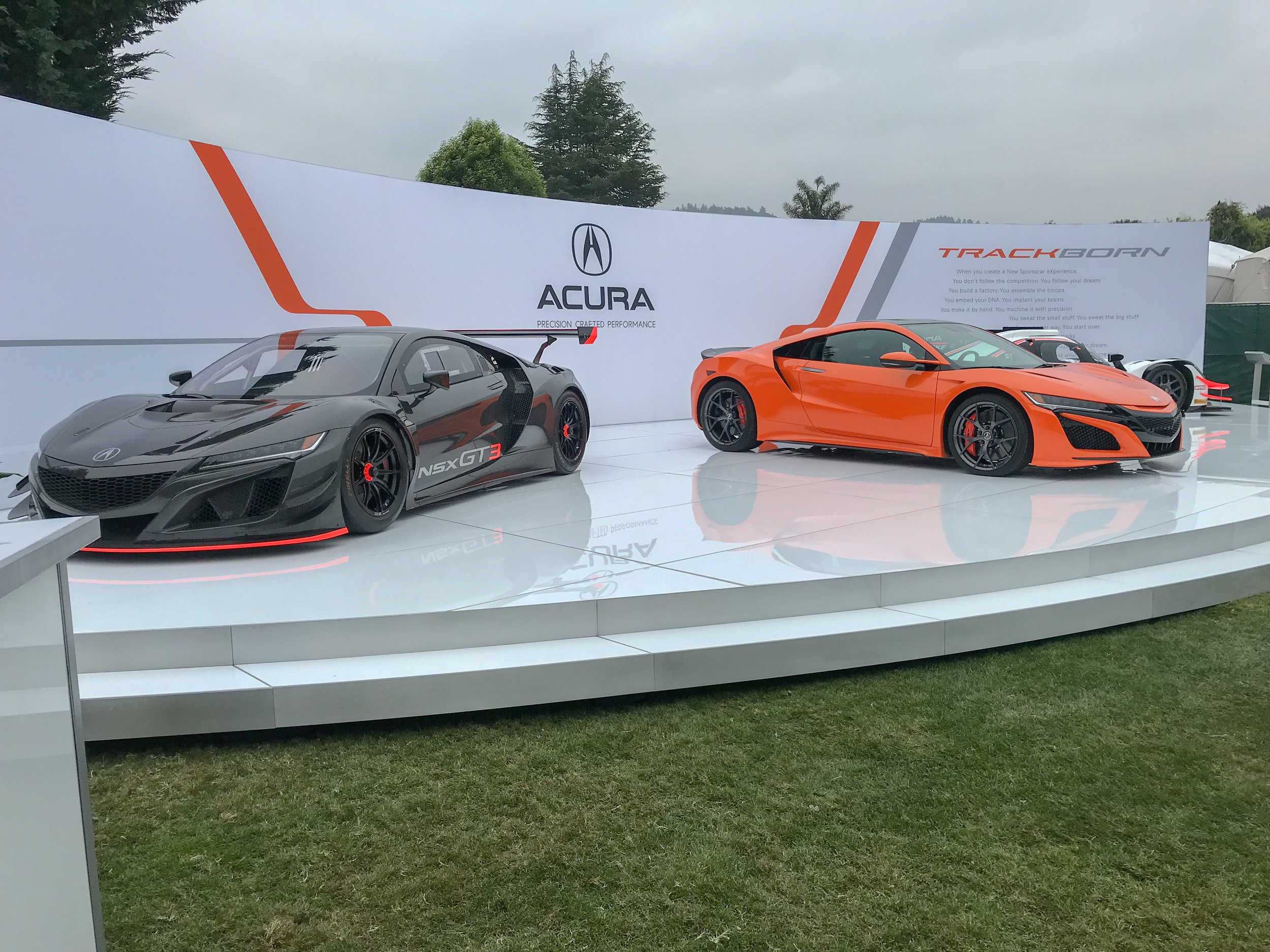 Detailed View of Quail Stage, Acura Monterey Car Week, 2018