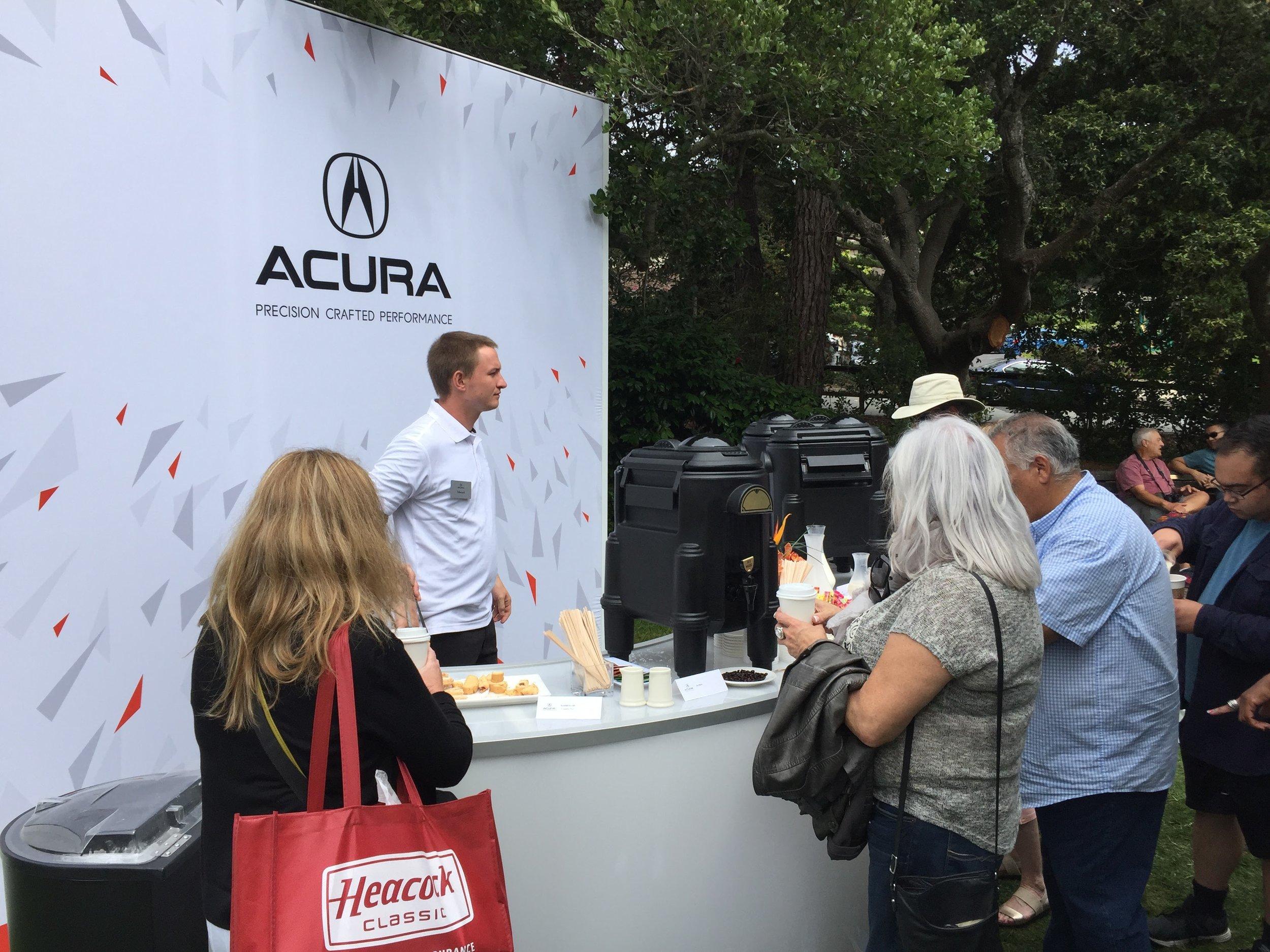 COTA, Hospitality Area, Acura Monterey Car Week 2017