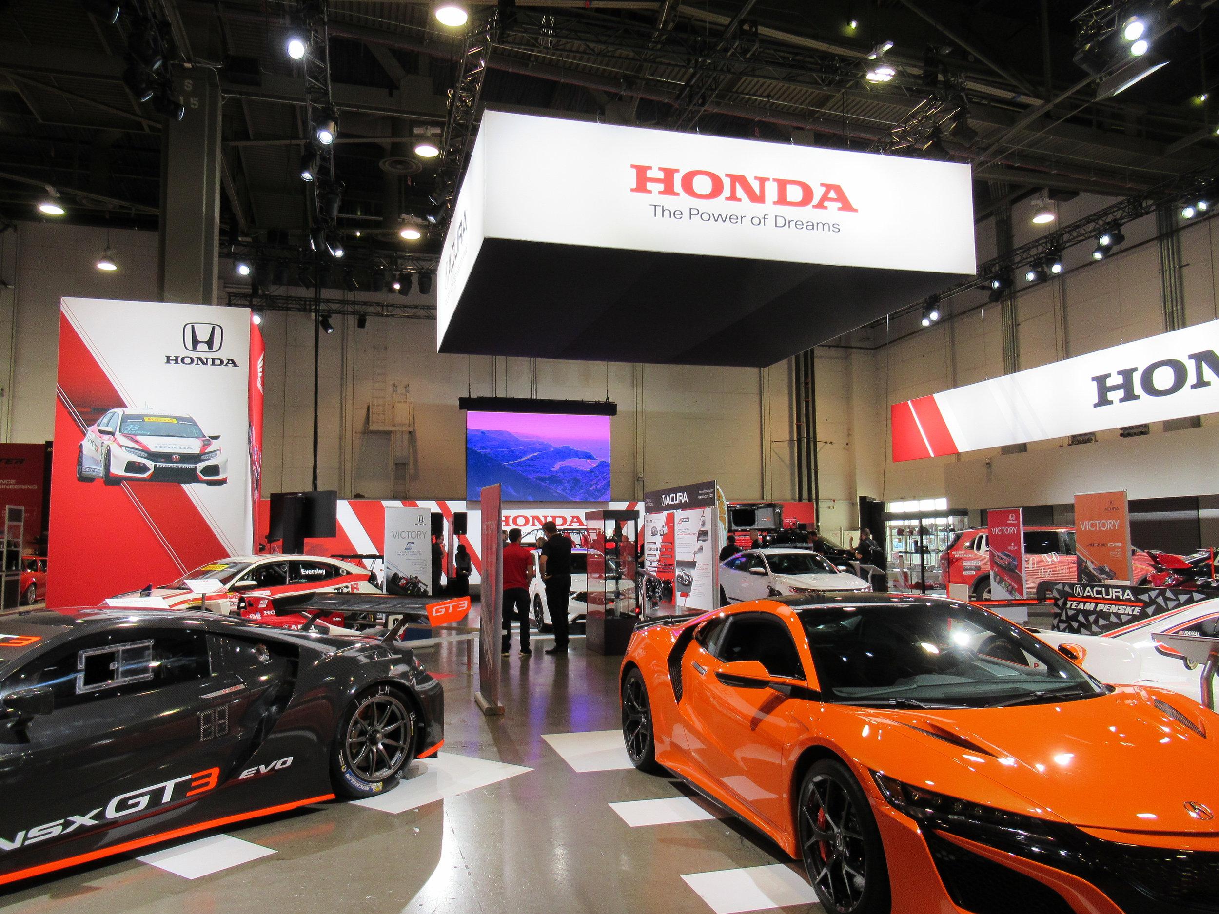 """""""Hot Corner"""" view, Honda+Acura & GPJ, 2018"""