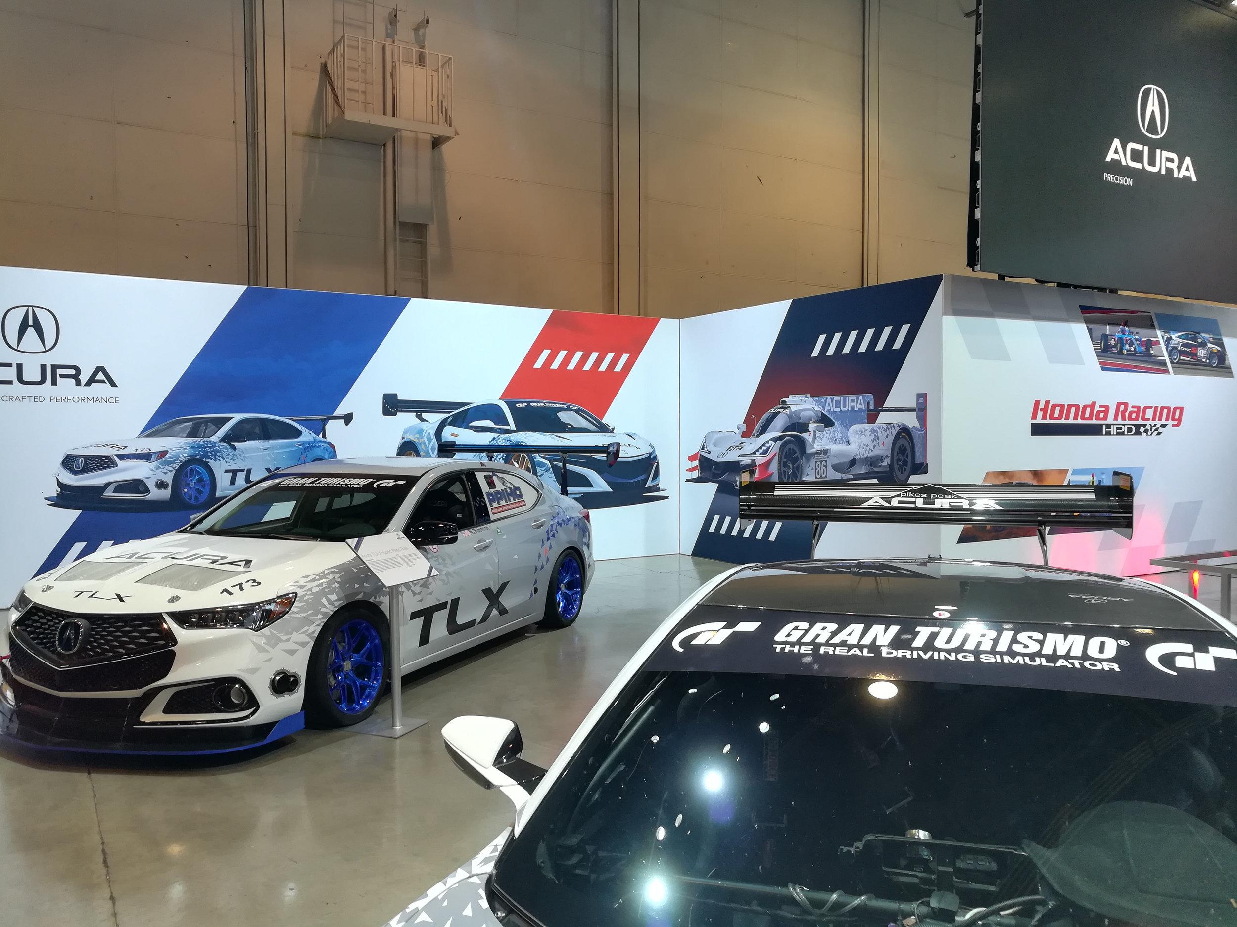 Acura Racing Area, Honda+Acura & GPJ, 2017
