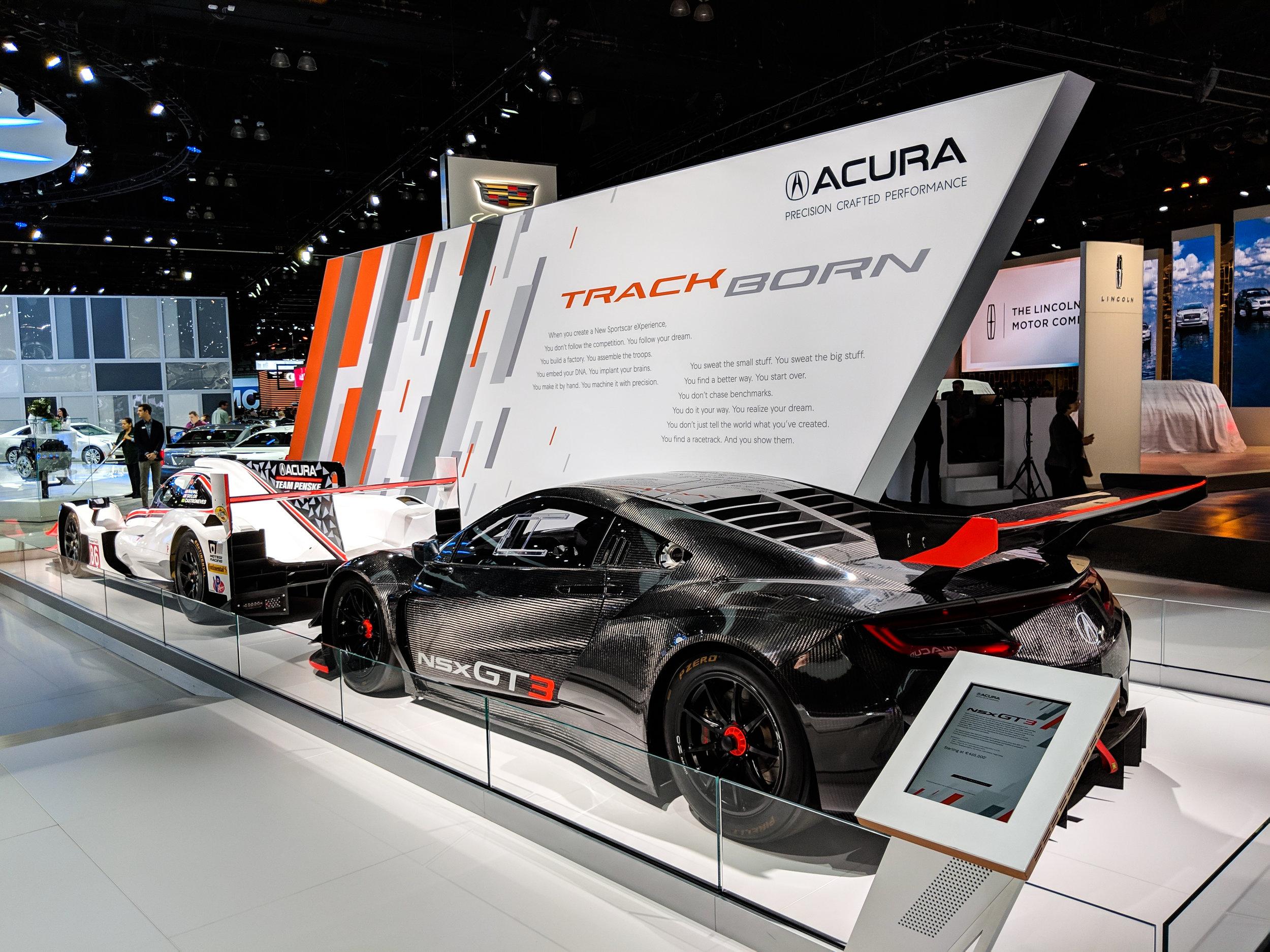 Racing Wall (interior), LAIAS 2018, Acura + GPJ, 2018
