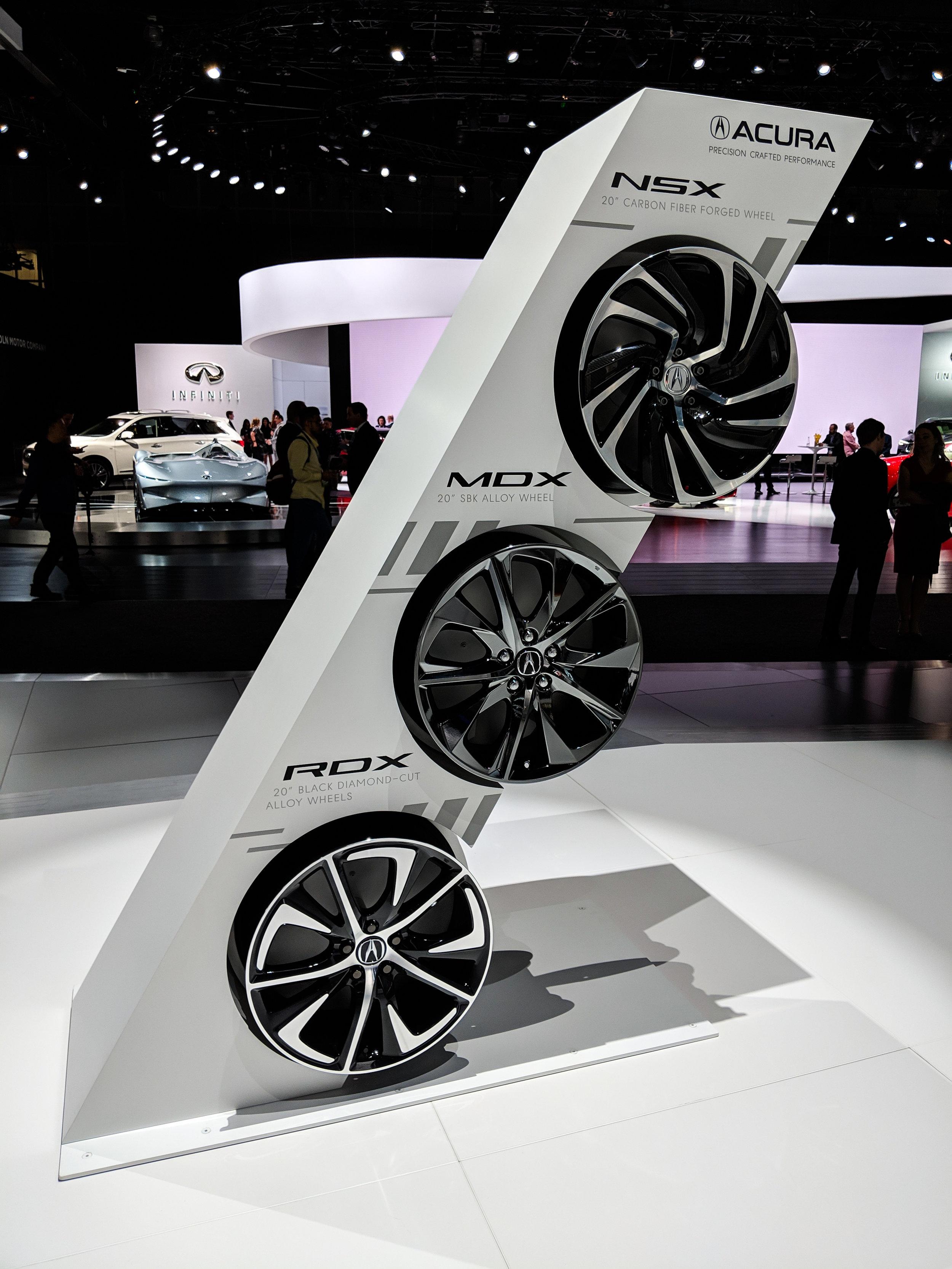 Wheel Display, LAIAS 2018, Acura + GPJ, 2018