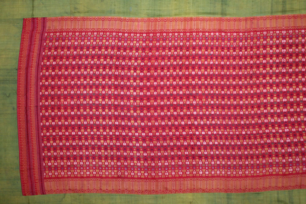 Ceremonial silk cover or hanging, Cambodia, late 19th century.