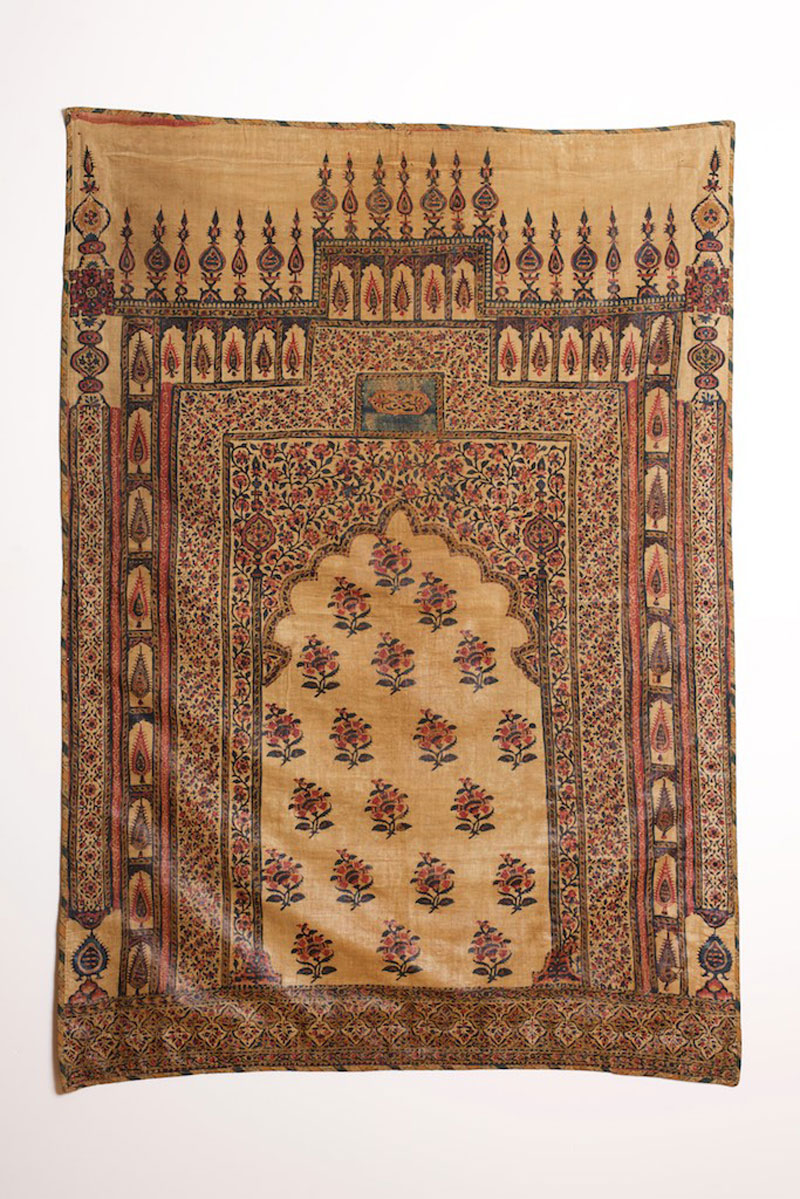 Chintz, India for the Persian market, 18th or 19th century.