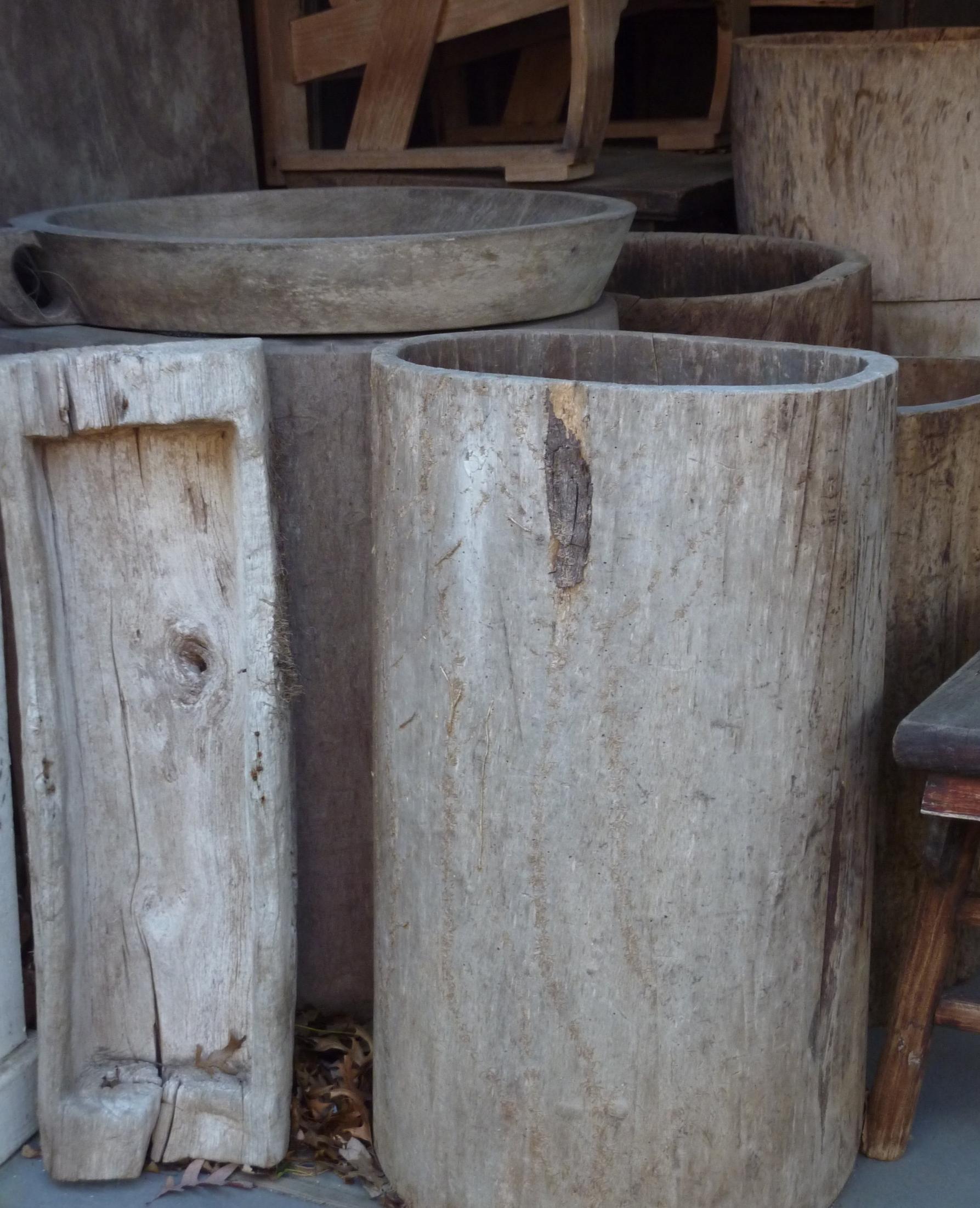 Water barrel, China, circa 1900.