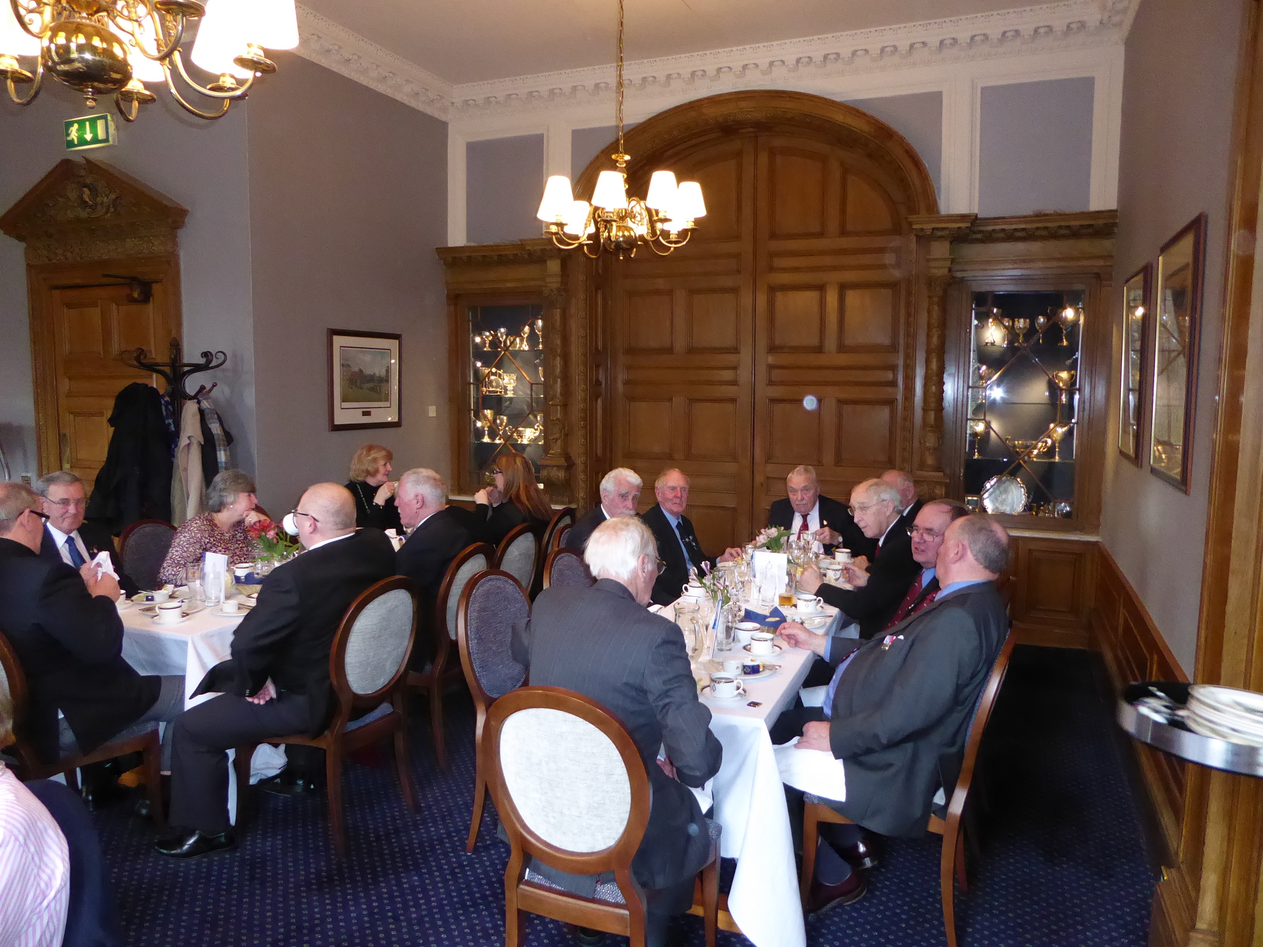 ABA Stirlingshire Visit to the National War Memorial Edinburgh Castle followed by lunch at the Royal Scots Club