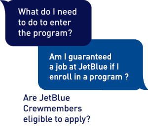 FAQ — JetBlue Pilot Gateway Programs