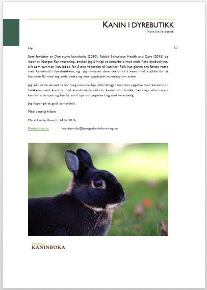 kanin+dyrebutikk, dyrebutikk+kurs
