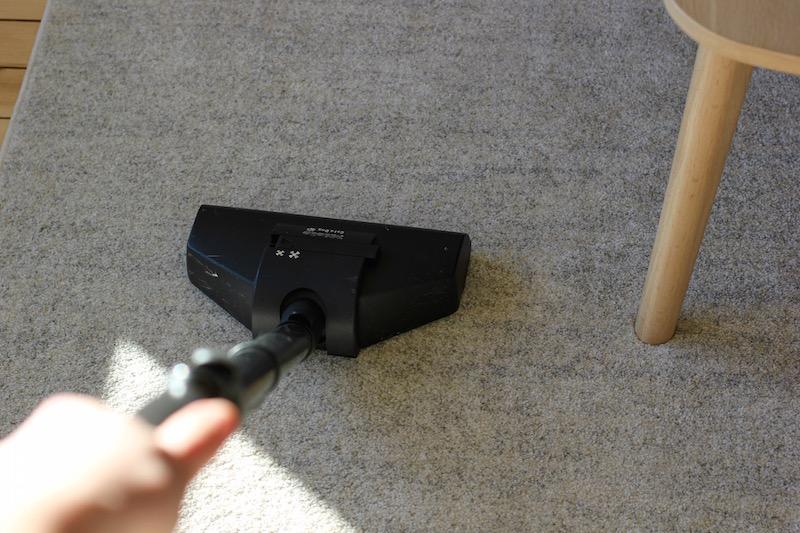 Jeg støvsuger lett som en plett   Foto: Marit Emilie Buseth