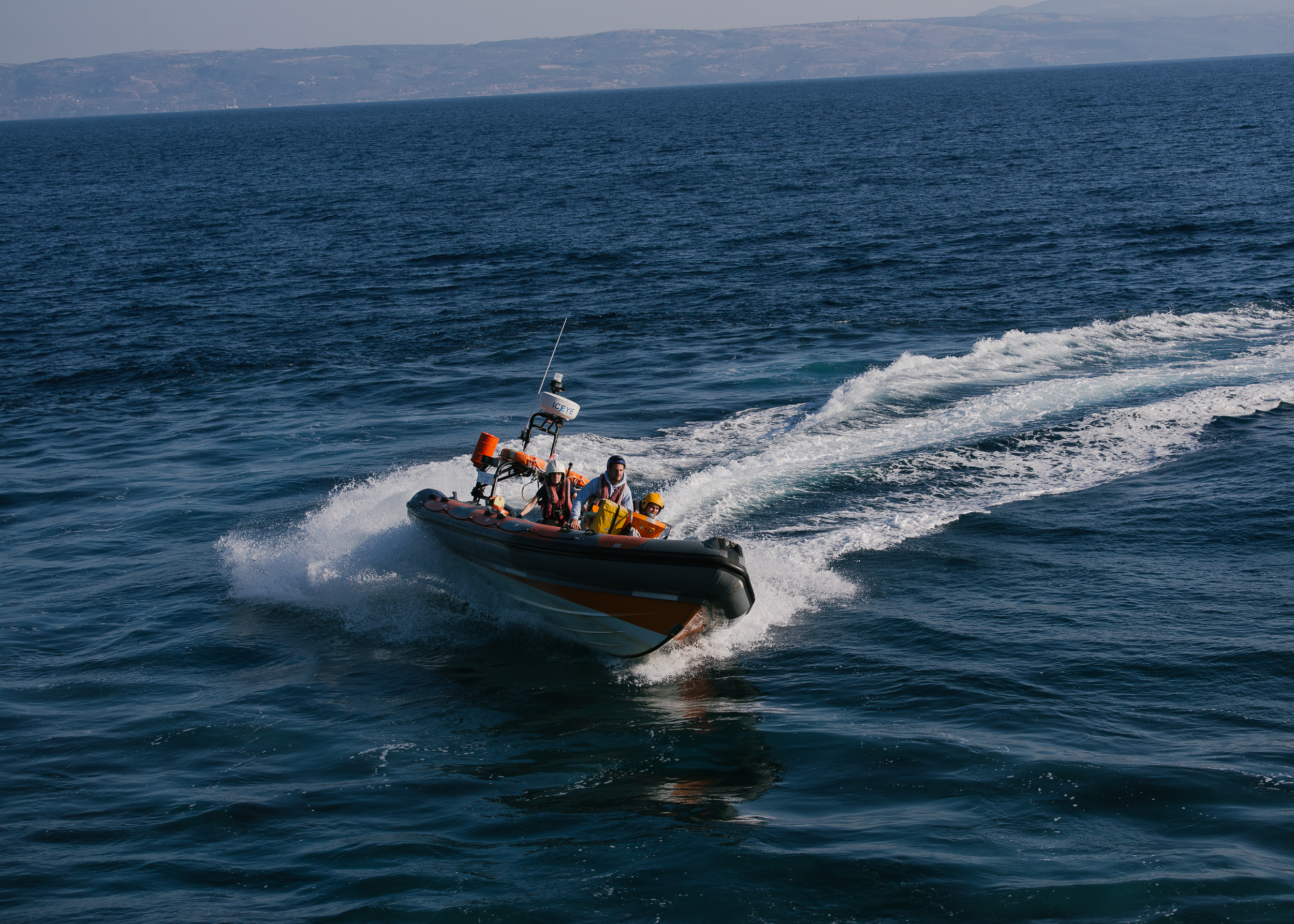 £ 1000,00 - covers the cost of vital maintenance to keep our rescue boat afloat