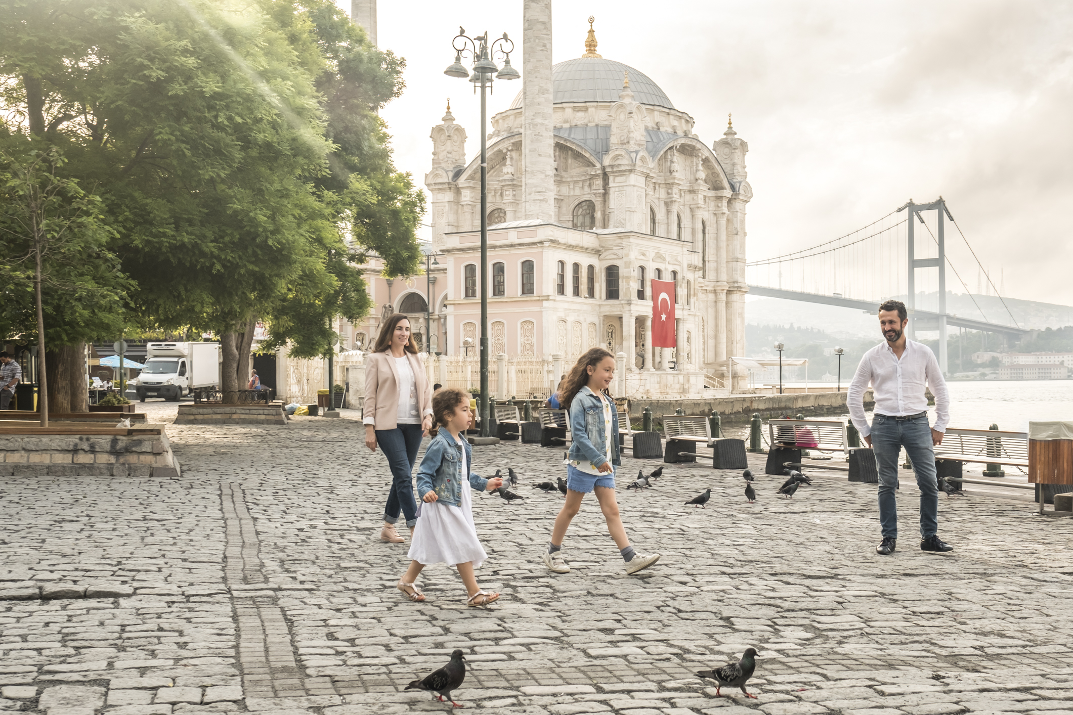 Family photo session in Istanbul