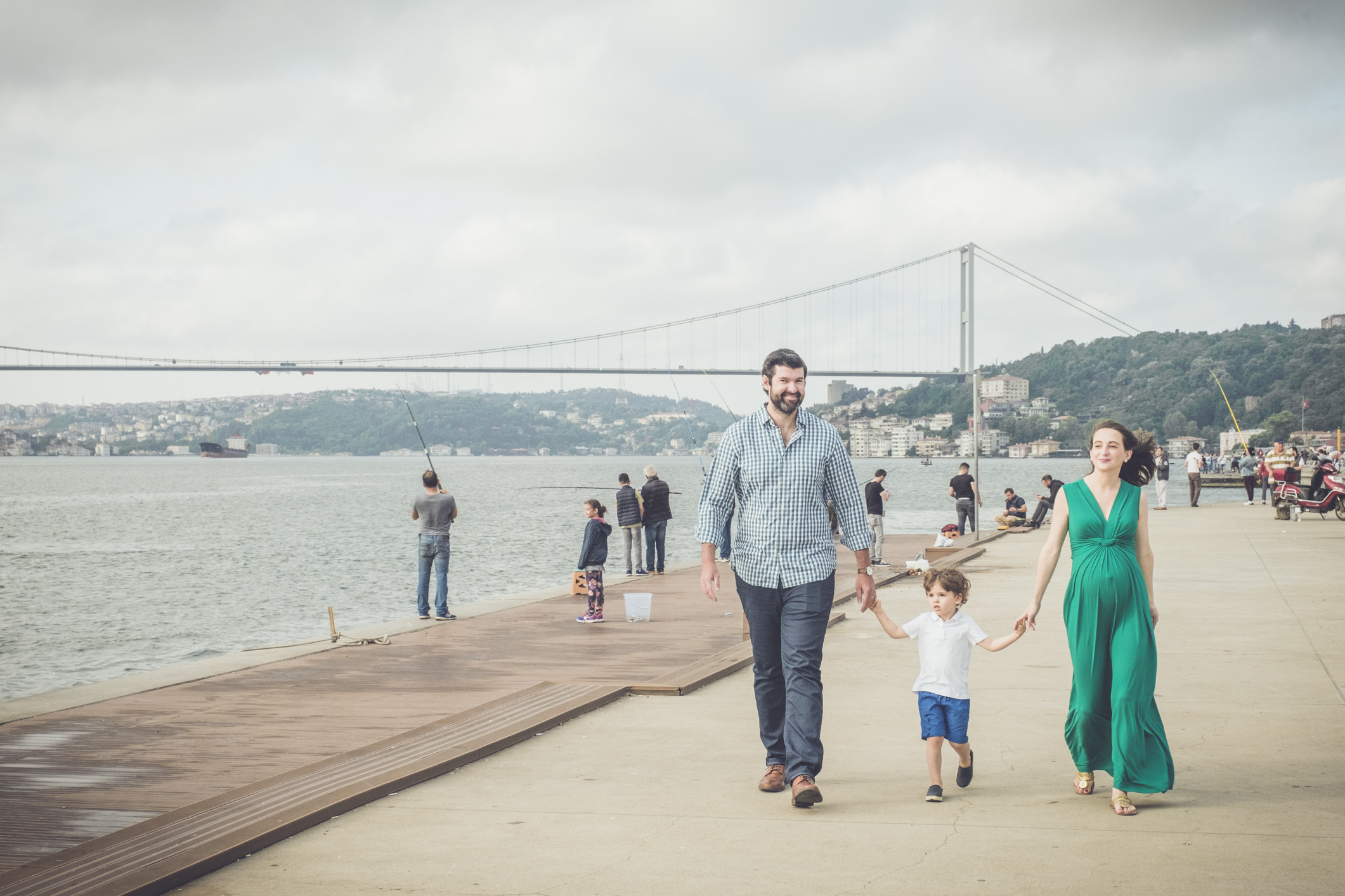 Family portraits in Istanbul