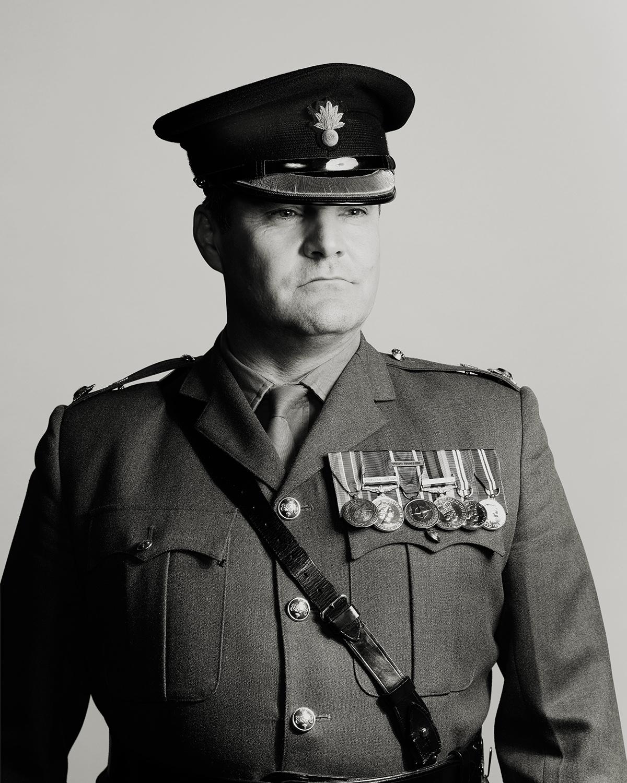 BRITISH ARMY OFFICER   London England
