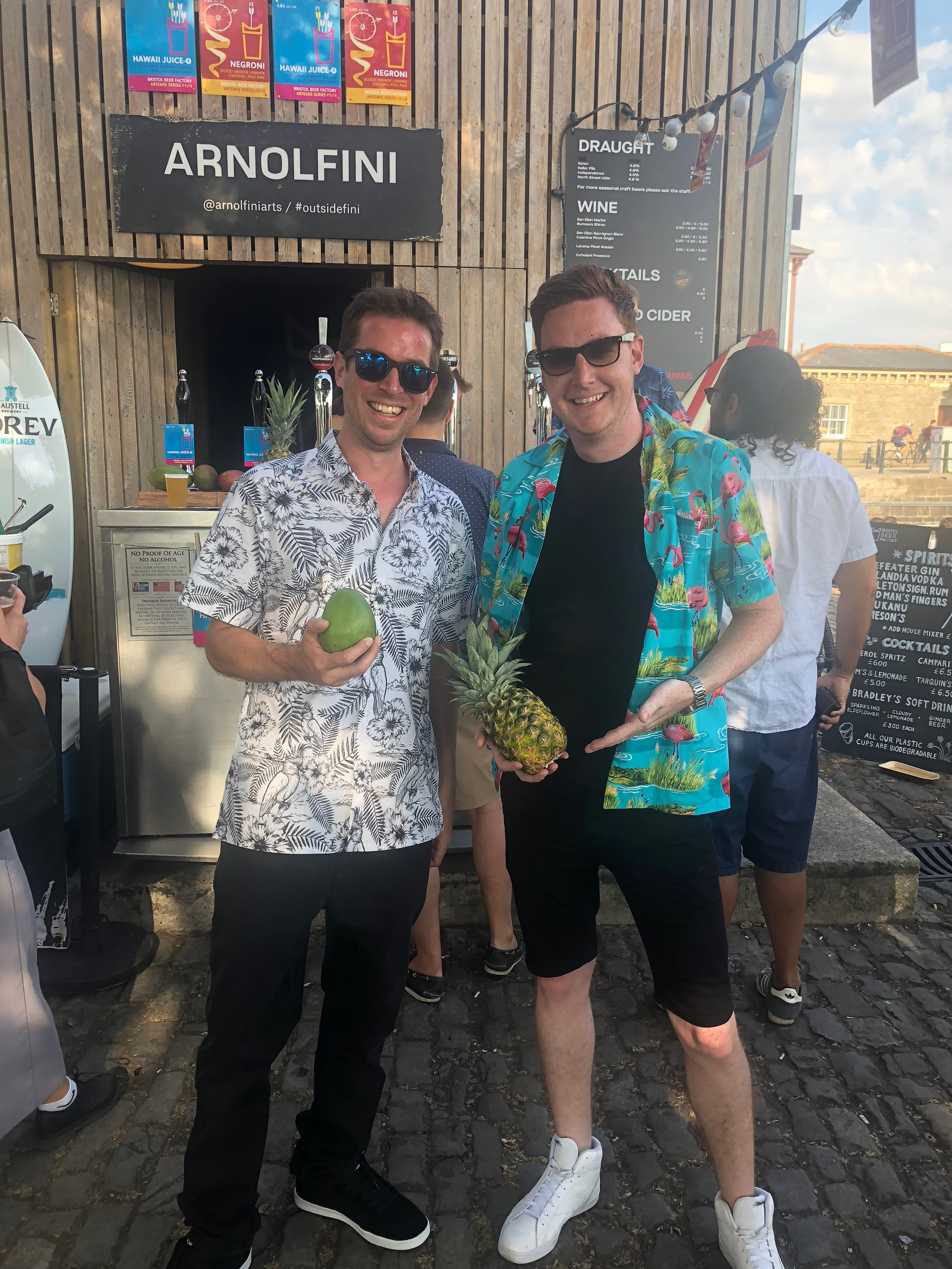 Hawaii Juice-O Launch Party