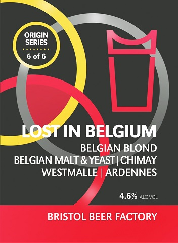 Origin Series No.6 - Lost In Belgium