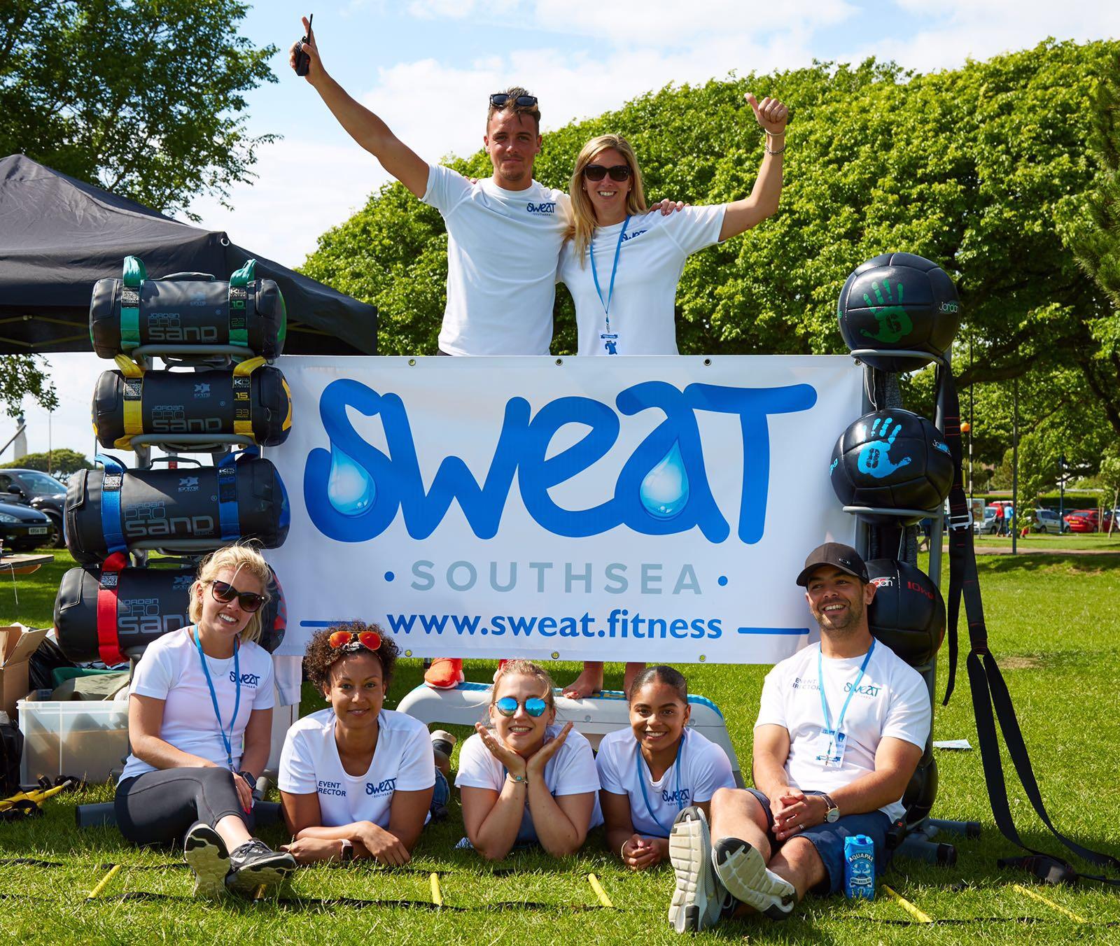 The Sweat Team.