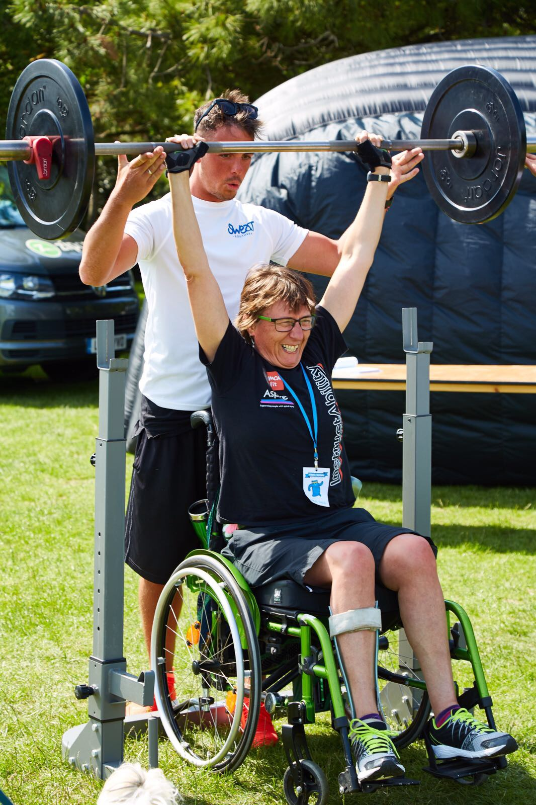 Helping   inspirational People prove anything is possible. Just what the fitness festival is all about.