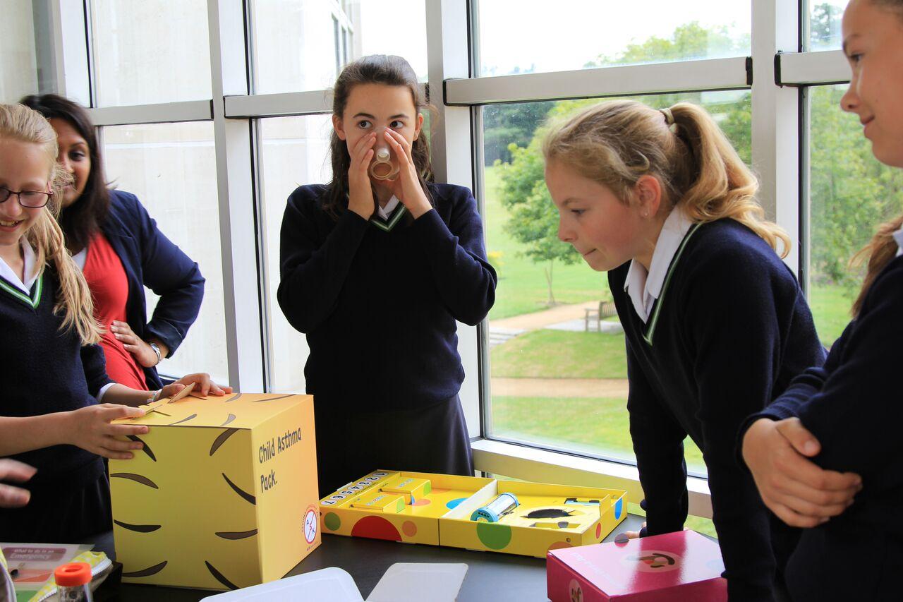 Student-Led Designs could help Childhood Asthma Deaths  (photo Lloyd Mann/University of Cambridge)