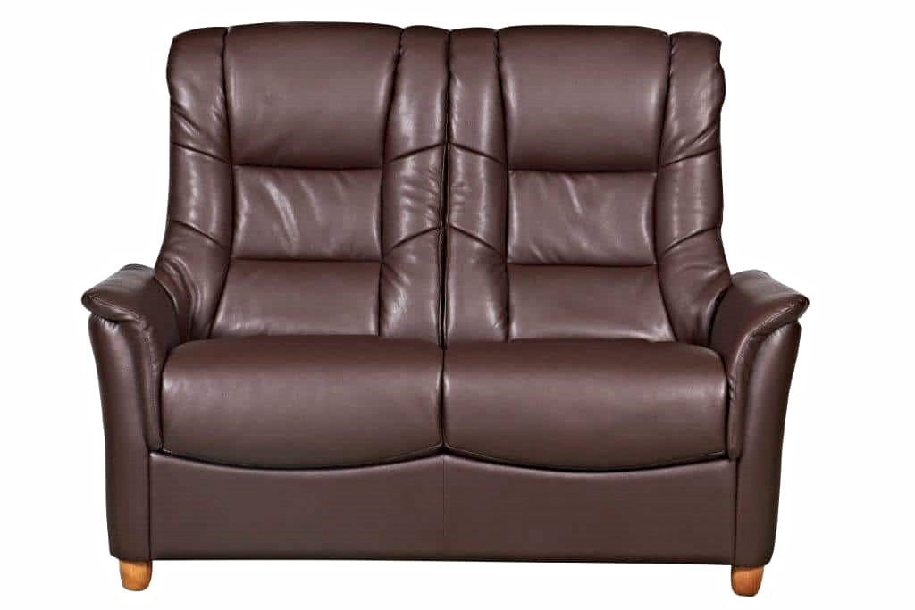 Florence Nut Brown 2 Seater