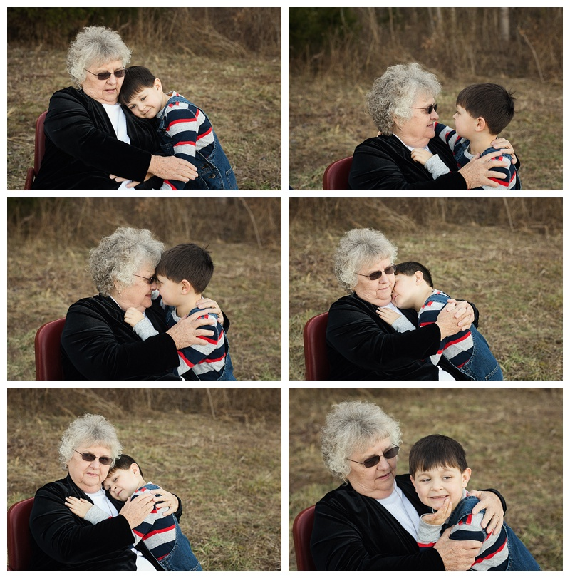 My Family - Middle Tn Photographer - Grandmother & Grandson