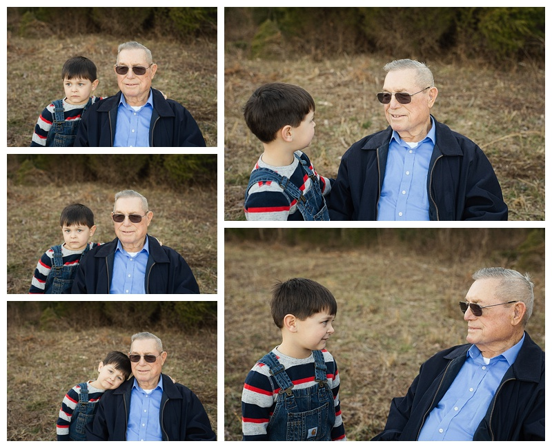 My Family - Middle Tn Photographer - Grandfather & Grandson