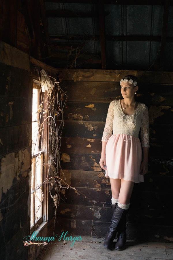Senior Pictures - vintage - Alien Skin Exposure X - Cookeville Tn - Middle Tn - Shauna Hargis Photography
