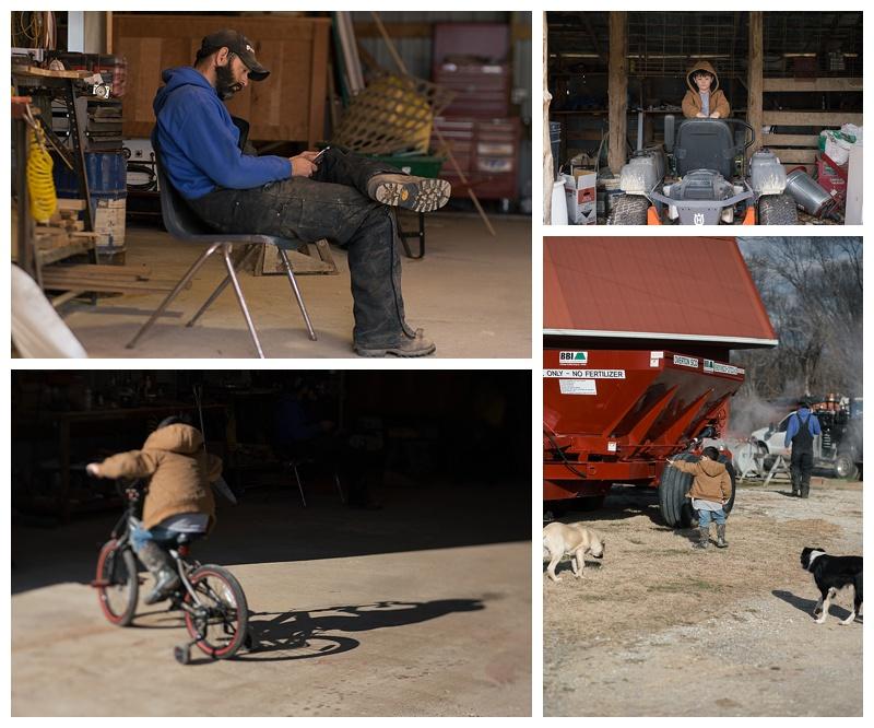 Documentary photos on the farm - Cookeville Tn - Middle Tn Photographer