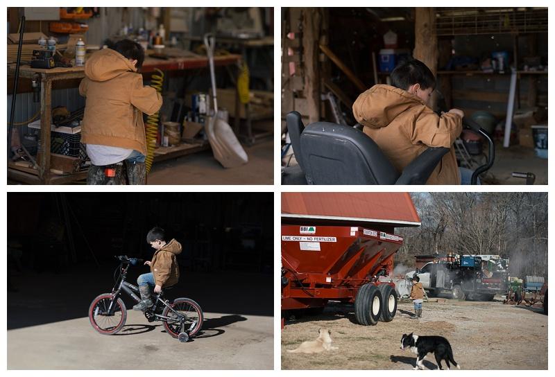 Documentary photos on the farm - Cookeville TN, Middle Tn photographer